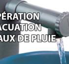 Récupération et évacuation des eaux de pluie