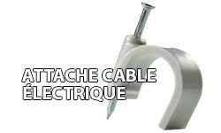 Attâche des câbles électriques
