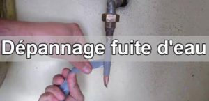 astuces simples et rapides pour colmater une fuite d 39 eau. Black Bedroom Furniture Sets. Home Design Ideas