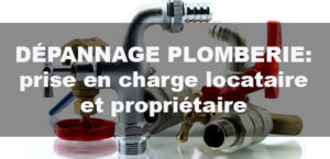 Reparation plomberie appartement location