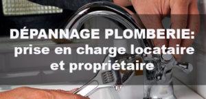 prise en charge en cas de panne de plomberie