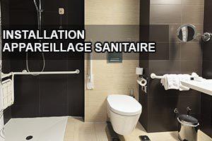 Installation dispositifs sanitaires pour handicapés