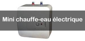 mini chauffe-eau électrique