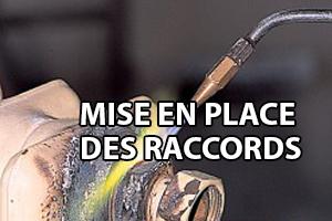 Raccordement d 39 un radiateur en acier avec une tuyauterie - Comment changer un robinet de radiateur ...