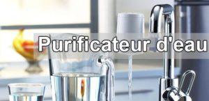 Installaer un purificateur d'eau