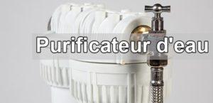 Installation d'un purificateur d'eau