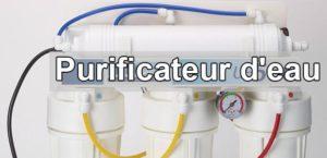 Avantages d'un purificateur d'eau
