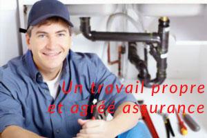 Travail soigné et propre par plombier paris 15