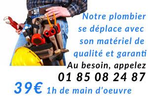 plombier Paris 1 utilise du matériel de qualité