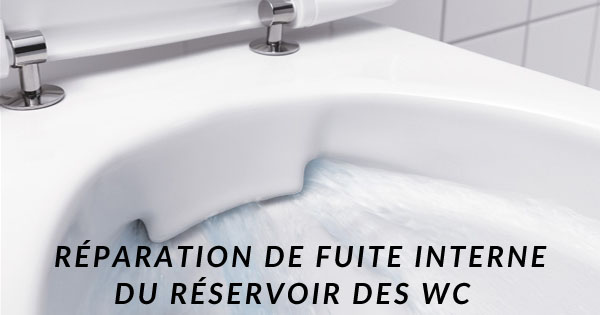 guide plomberie r paration fuite interne du r servoir toilette. Black Bedroom Furniture Sets. Home Design Ideas