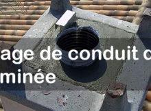 tubage de conduit de cheminee