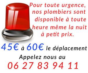 Plombier Paris 14 intervient rapidement la nuit